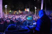 Dj Ralphheyralph performing in front of large crowd