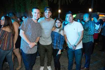 Students pictured at Matador Nights