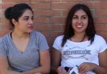 2 CSUN students shown being interviewed