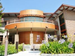 photo shows CSUN police services building