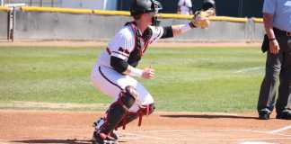 csun player practices before game