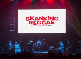 Band plays at shanking reggae festival