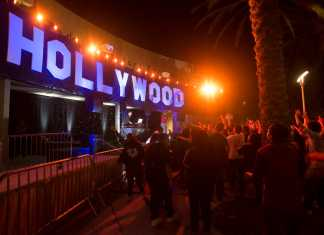 hollywood sign pictured spring 2017 matador nights