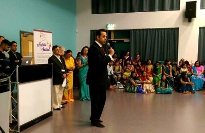 Celebrating Navratri in Oadby