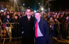 Celebrating Diwali in Leicester with Jon Ashworth MP