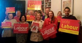 Campaigning for Labour in Erewash with PPC Catherine Atkinson