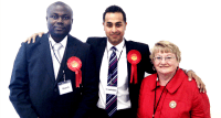 Elected as a Leicester City Councillor