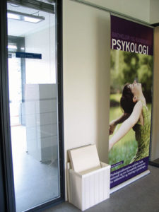 Det nye institut for psykologi på SDU er stadig under opbygning.