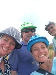 Us & the biking Brackes