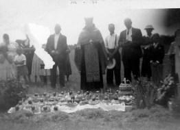 Graveside memorial service (1955)