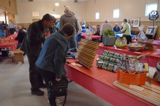 Checking out the auction tables