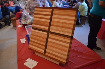 Hand-crafted cutting board by Nick Eliuk