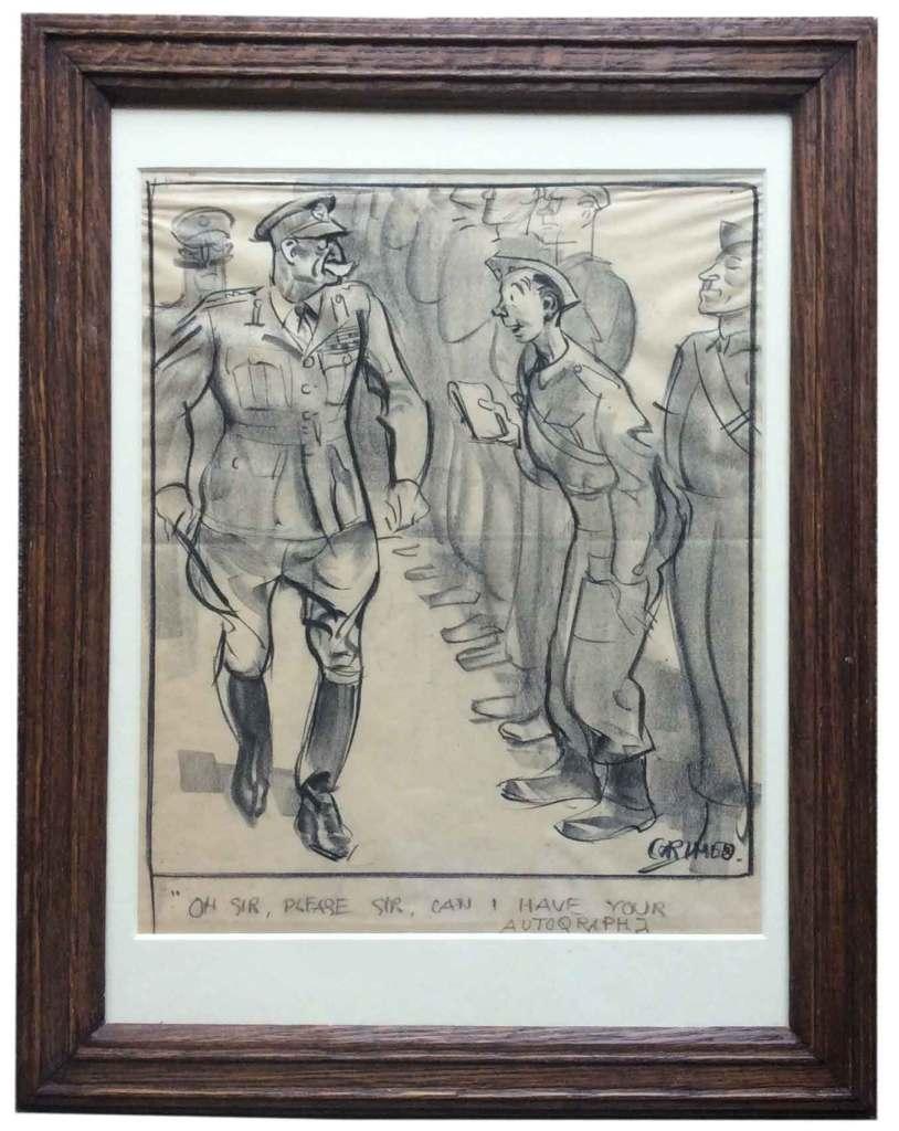 Army Cartoon by Grimes