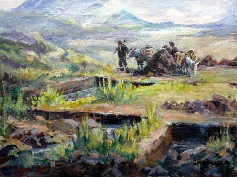 JM McCullock, Peat Cutters
