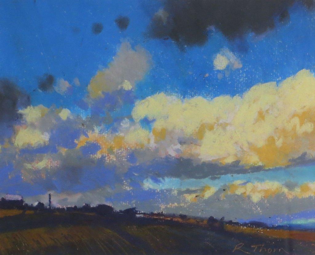 richard thorn Norfolk landscape painting