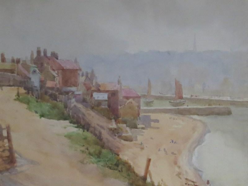painting of Whitby, Herbert Wilson Foster