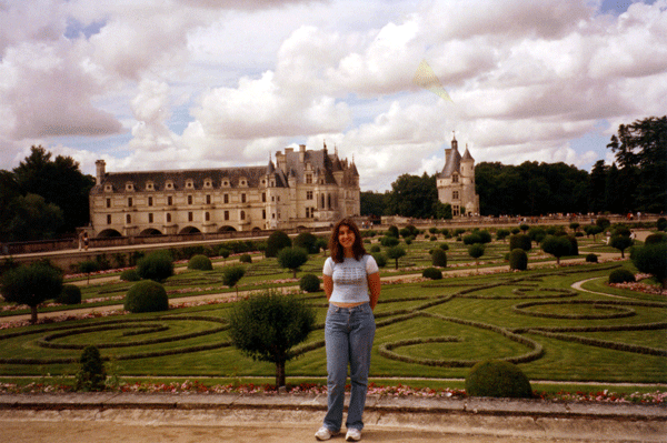 Sunee-at-Chenonceau