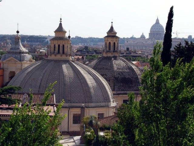 Rome-View-Borghese-Gardens