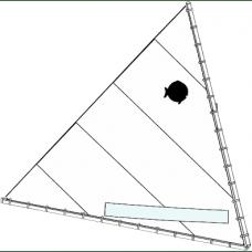Sunfish Sail, Race White, 94306