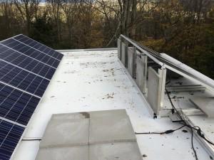 Flat Ballast roof East