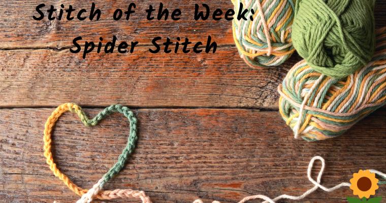 Spider Stitch Crochet Tutorial