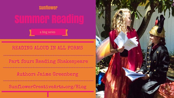 Becoming the story: Reading aloud with Shakespeare