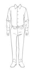 template sunflowerman mens shirts