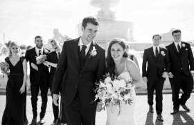 Alyssa + Brendan { Wedding Sneak }