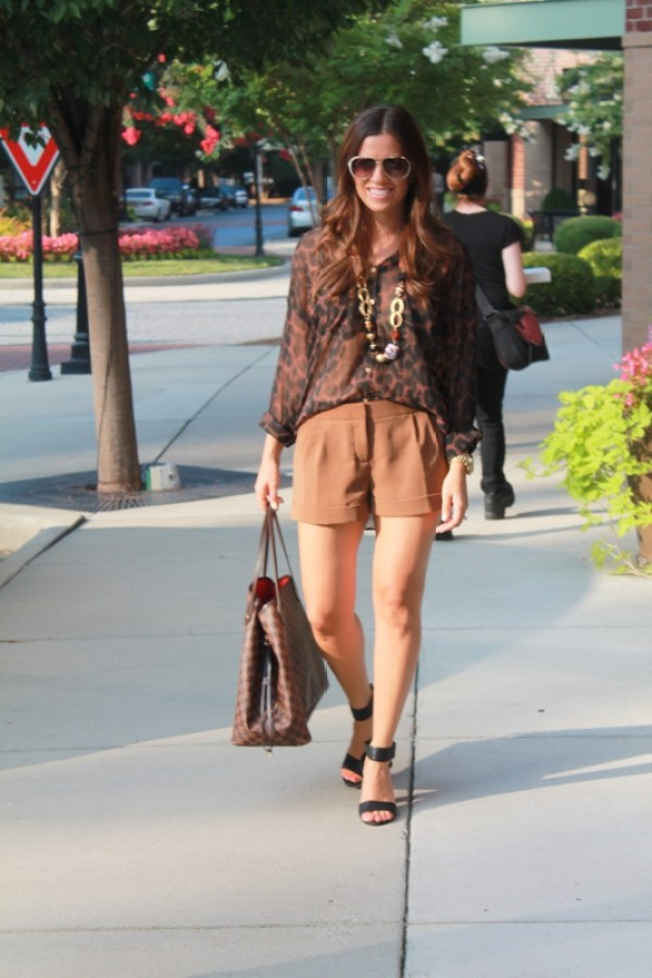Leopard Fall Outfit