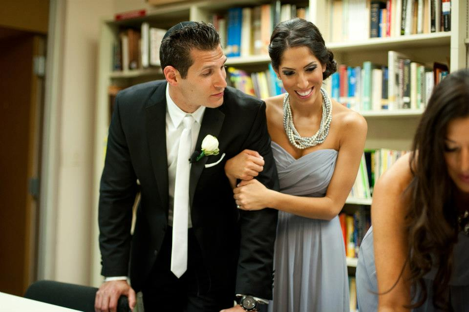Ketubah signing wedding