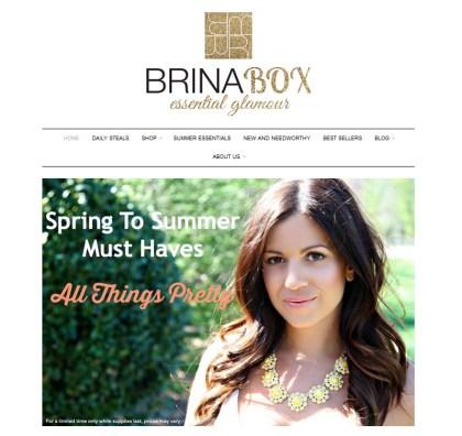 Brina Box Cover Feature, Jaime Cittadino