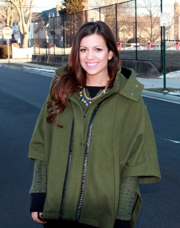 Kenneth Cole Cape Jacket