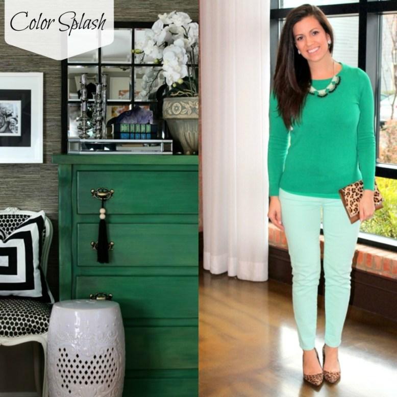 Color Splash Emerald