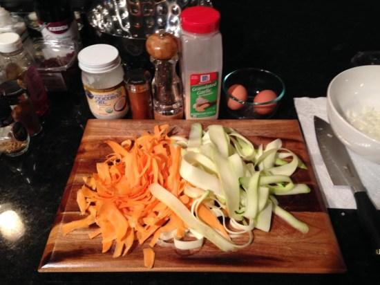 Sweet Potato & Zucchini Latkes