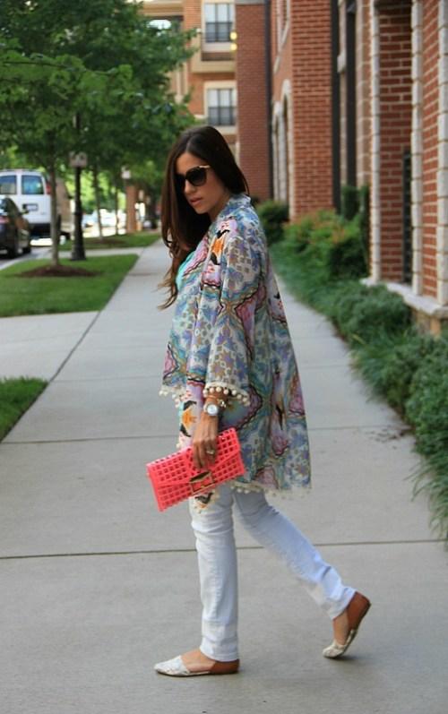 Pom Pom Kimono
