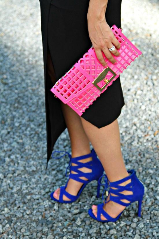 Steve Madden blue heels
