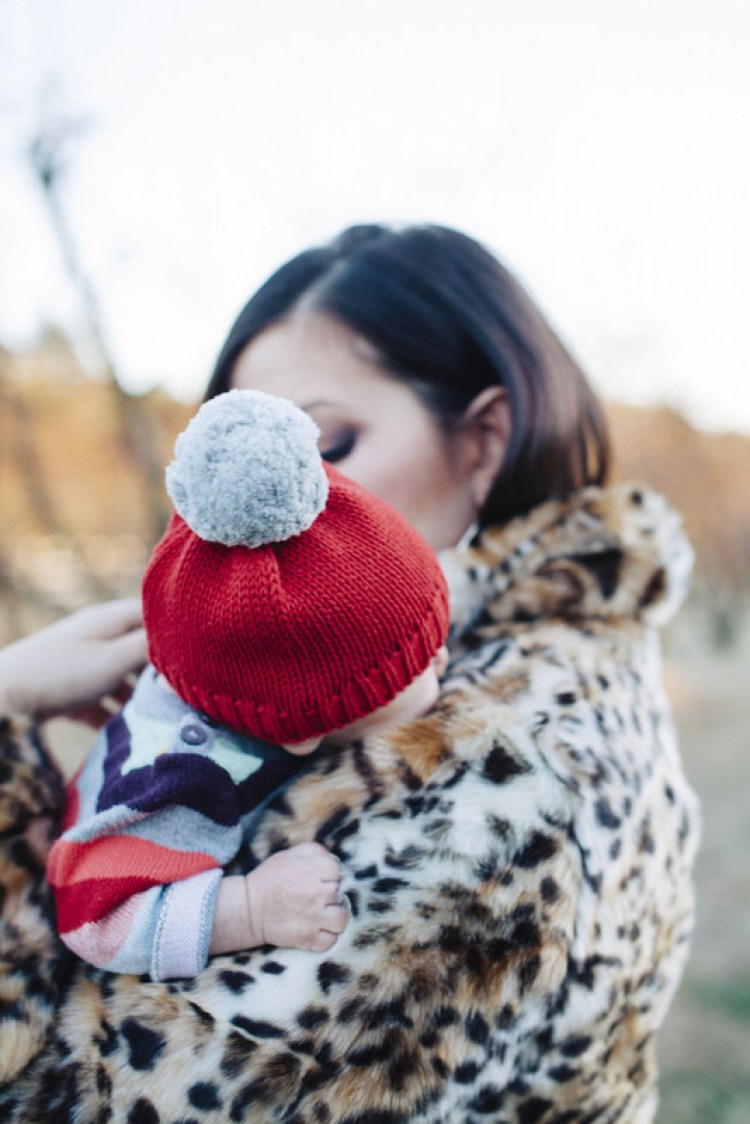 baby GAP holiday photo