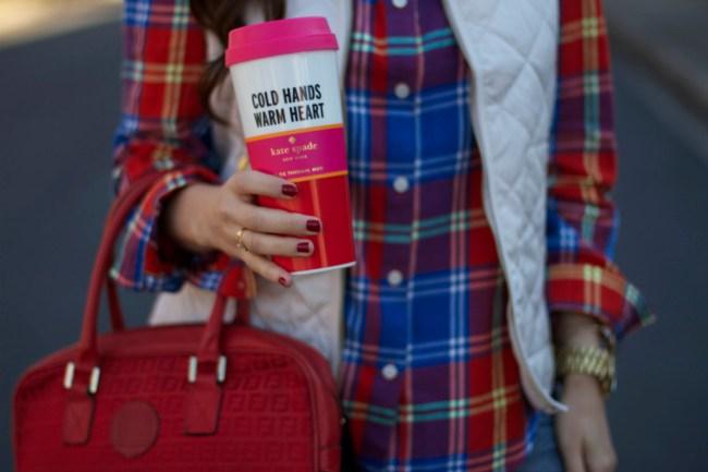 Kate Spade mug thermis