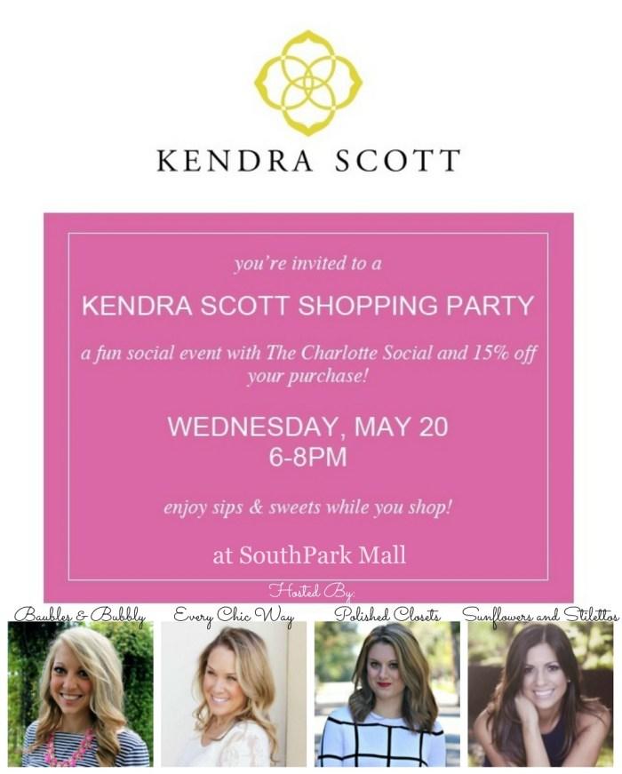 Kendra Scott SouthPark mall