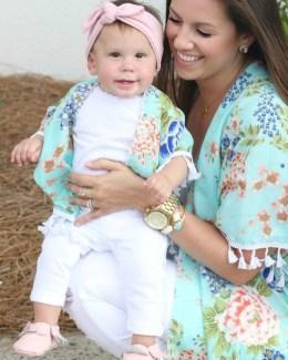 mommy and me kimono