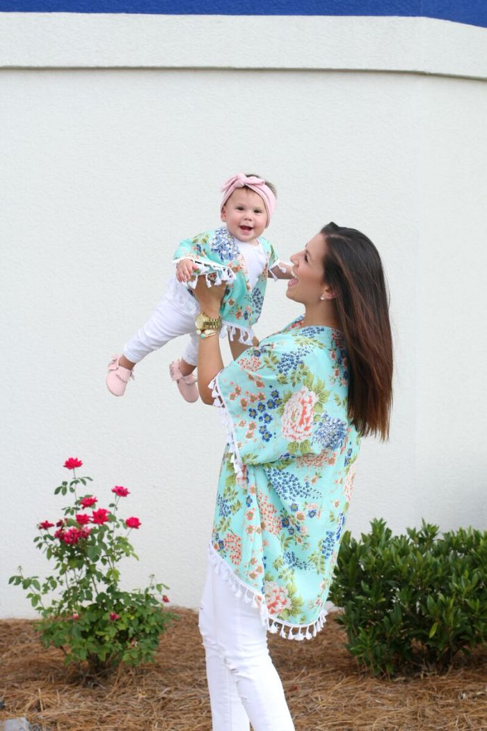Mommy and Me Kimonos