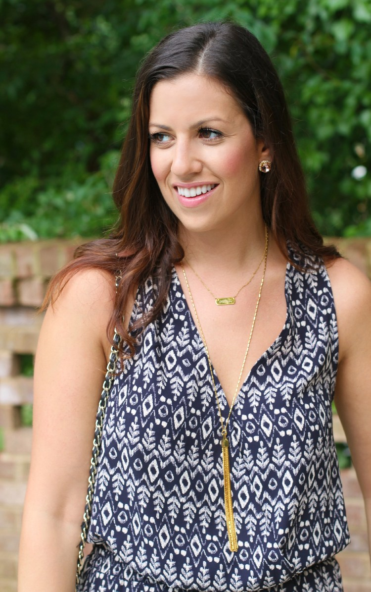 Loft and tassel necklace