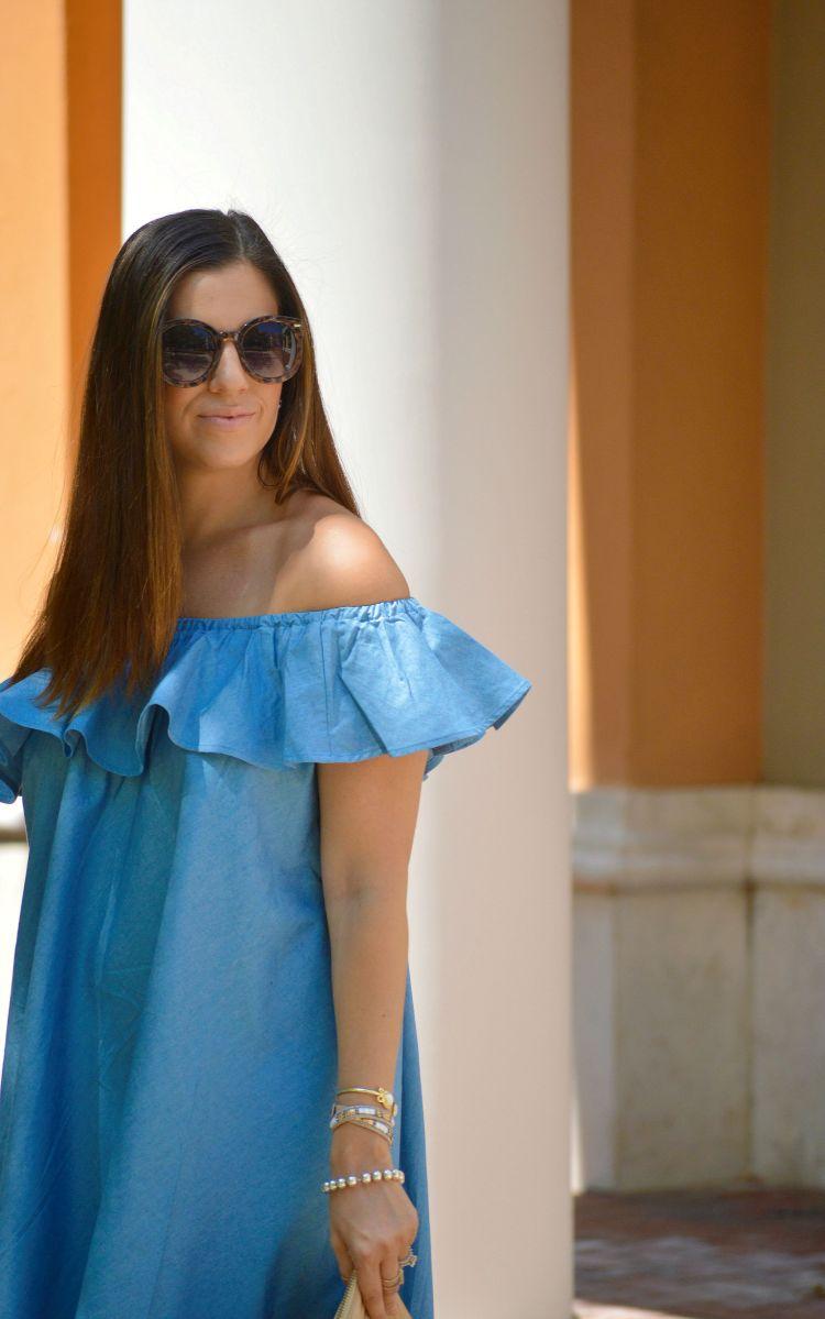Chicwish Denim Dress
