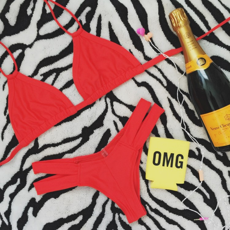 Montce Swim Euro Red bikini