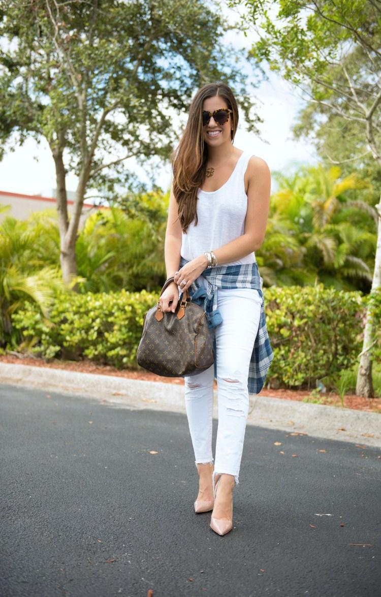 how to wear white in Fall, Florida fashion blogger, Jaime Cittadino