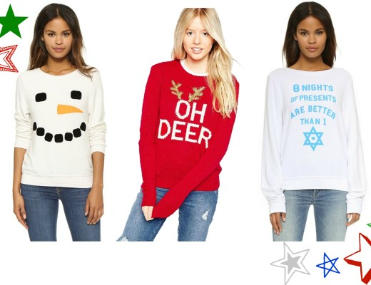 ugly holiday sweaters, cute ugly holiday sweaters