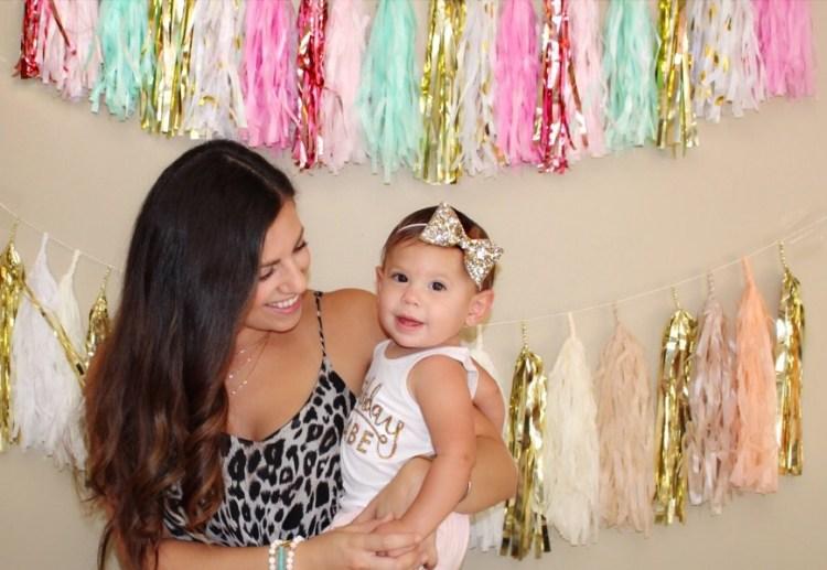 tassel garland, birthday tassel garland, baby's first birthday decorations