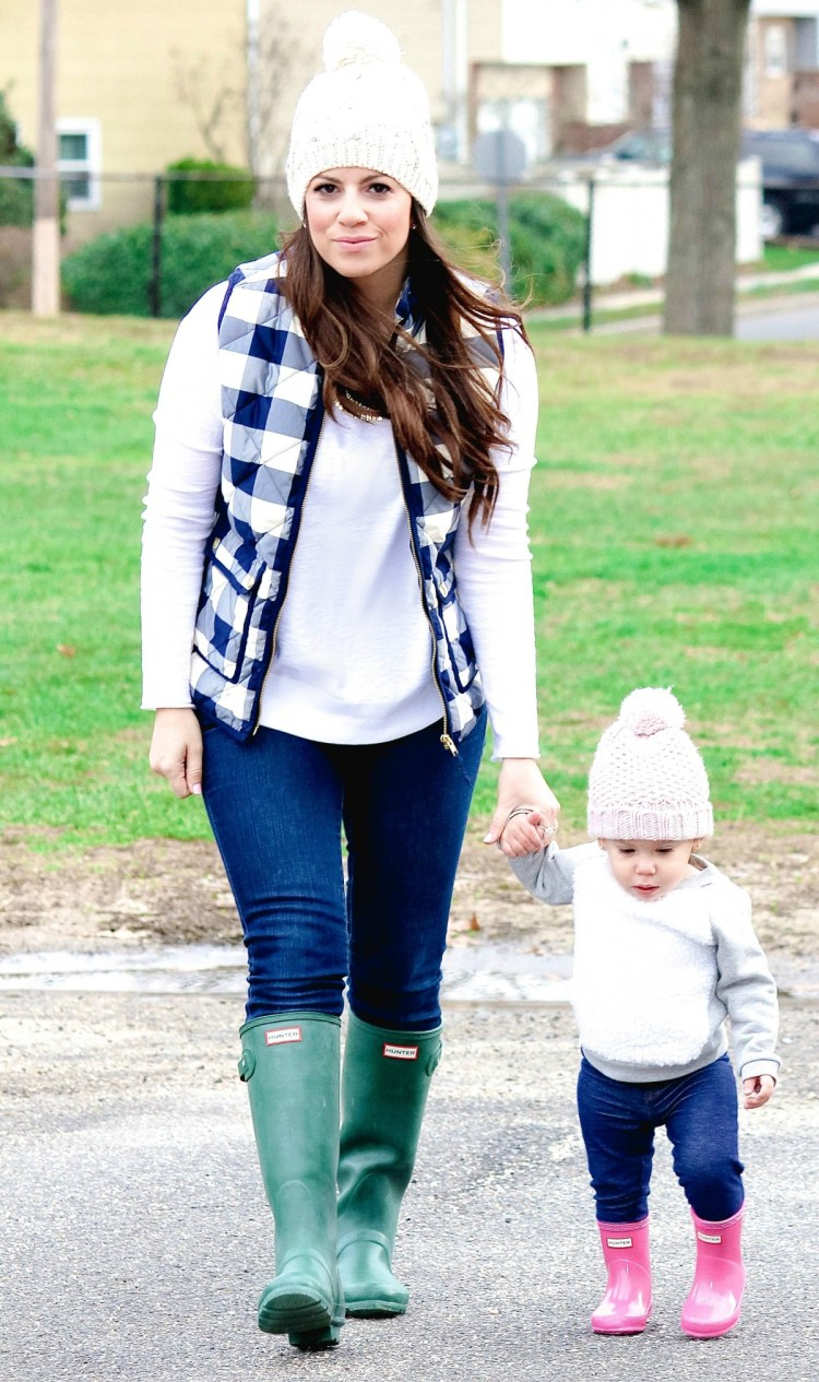 baby girl Hunter boots