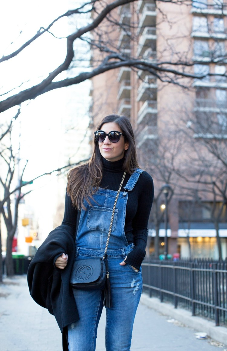 how to wear overalls, what to wear with overalls, ASOS overalls, madewell overalls