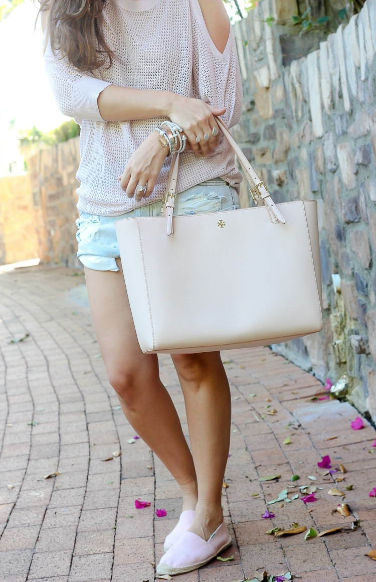 best blush  bag, tory burch tote, Jaime Cittadino